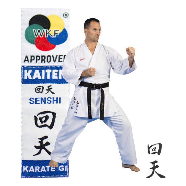 Kaiten Senshi WKF hyväksytty kumite karatepuku
