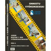 Onnistu vyökokeessa DVD, judon mustan 1.dan vyökoevaatimukset-0