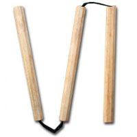 Kolmiosainen nunchaku 8-kulmainen 30 cm-0