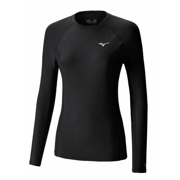Mizuno Bio Gear naisten paita pitkähihainen musta