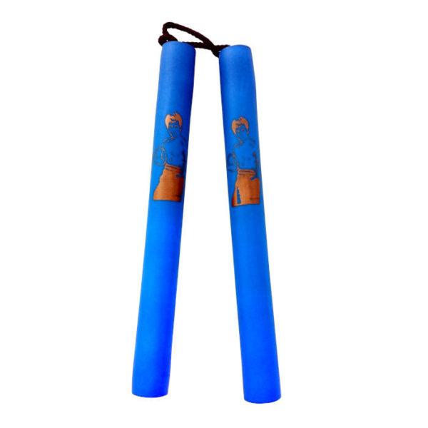 Nunchaku pehmustettu sininen